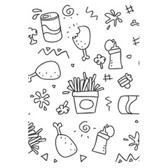 Set Chalk Out Scribble Collection 5 5  X 8 5  Notebooks by Celenk