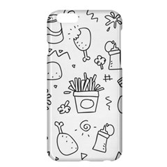 Set Chalk Out Scribble Collection Apple Iphone 6 Plus/6s Plus Hardshell Case by Celenk