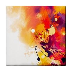 Paint Splash Paint Splatter Design Tile Coasters by Celenk