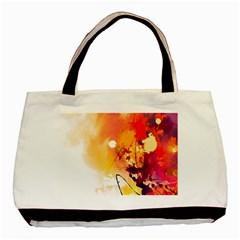 Paint Splash Paint Splatter Design Basic Tote Bag by Celenk