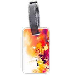 Paint Splash Paint Splatter Design Luggage Tags (two Sides)