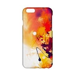 Paint Splash Paint Splatter Design Apple Iphone 6/6s Hardshell Case by Celenk
