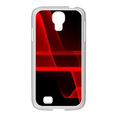 Background Light Glow Abstract Art Samsung Galaxy S4 I9500/ I9505 Case (white) by Celenk