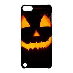 Pumpkin Helloween Face Autumn Apple Ipod Touch 5 Hardshell Case With Stand by Celenk