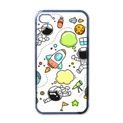 Sketch Set Cute Collection Child Apple Iphone 4 Case (black) by Celenk