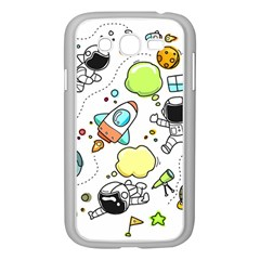 Sketch Set Cute Collection Child Samsung Galaxy Grand Duos I9082 Case (white) by Celenk