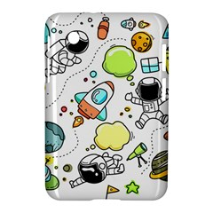 Sketch Set Cute Collection Child Samsung Galaxy Tab 2 (7 ) P3100 Hardshell Case  by Celenk