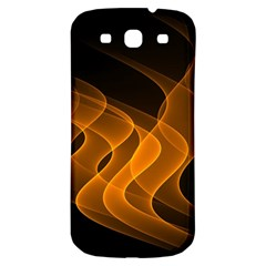 Background Light Glow Abstract Art Samsung Galaxy S3 S Iii Classic Hardshell Back Case by Celenk