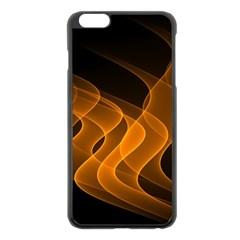 Background Light Glow Abstract Art Apple Iphone 6 Plus/6s Plus Black Enamel Case by Celenk