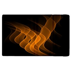 Background Light Glow Abstract Art Apple Ipad Pro 9 7   Flip Case by Celenk