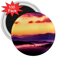 Great Smoky Mountains National Park 3  Magnets (100 Pack) by Celenk