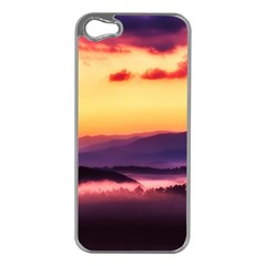 Great Smoky Mountains National Park Apple Iphone 5 Case (silver) by Celenk