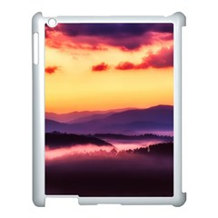 Great Smoky Mountains National Park Apple Ipad 3/4 Case (white) by Celenk