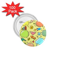 Cute Sketch Child Graphic Funny 1 75  Buttons (100 Pack)  by Celenk