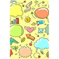 Cute Sketch Child Graphic Funny 5 5  X 8 5  Notebooks by Celenk