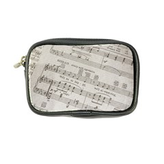 Sheet Music Paper Notes Antique Coin Purse by Celenk