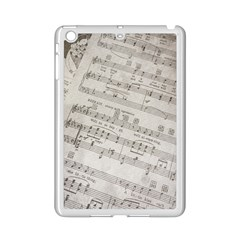 Sheet Music Paper Notes Antique Ipad Mini 2 Enamel Coated Cases by Celenk