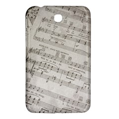 Sheet Music Paper Notes Antique Samsung Galaxy Tab 3 (7 ) P3200 Hardshell Case  by Celenk