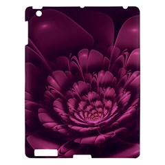 Fractal Blossom Flower Bloom Apple Ipad 3/4 Hardshell Case by Celenk