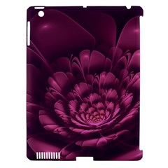 Fractal Blossom Flower Bloom Apple Ipad 3/4 Hardshell Case (compatible With Smart Cover) by Celenk