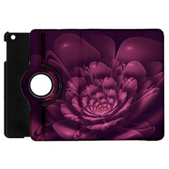 Fractal Blossom Flower Bloom Apple Ipad Mini Flip 360 Case by Celenk