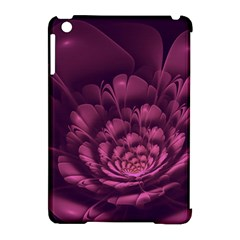 Fractal Blossom Flower Bloom Apple Ipad Mini Hardshell Case (compatible With Smart Cover) by Celenk