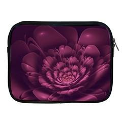 Fractal Blossom Flower Bloom Apple Ipad 2/3/4 Zipper Cases by Celenk