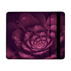 Fractal Blossom Flower Bloom Samsung Galaxy Tab Pro 8 4  Flip Case by Celenk