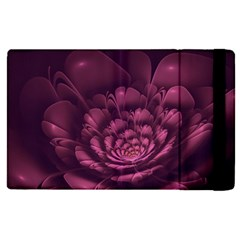 Fractal Blossom Flower Bloom Apple Ipad Pro 12 9   Flip Case by Celenk