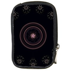Fractal Flowers Pattern Fantasy Compact Camera Cases by Celenk