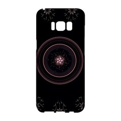 Fractal Flowers Pattern Fantasy Samsung Galaxy S8 Hardshell Case