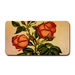 Vintage Flowers Floral Medium Bar Mats by Celenk