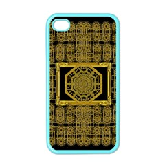 Beautiful Stars Would Be In Gold Frames Apple Iphone 4 Case (color) by pepitasart