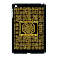 Beautiful Stars Would Be In Gold Frames Apple Ipad Mini Case (black) by pepitasart