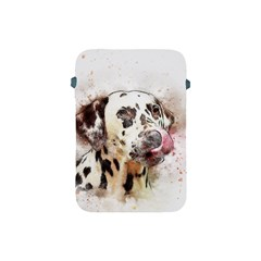 Dog Portrait Pet Art Abstract Apple Ipad Mini Protective Soft Cases by Celenk