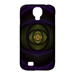 Fractal Blue Eye Fantasy 3d Samsung Galaxy S4 Classic Hardshell Case (pc+silicone) by Celenk