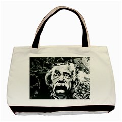 Einstein Albert Einstein Street Art Basic Tote Bag by Celenk