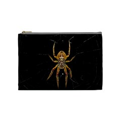 Nsect Macro Spider Colombia Cosmetic Bag (medium)  by Celenk