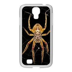 Nsect Macro Spider Colombia Samsung Galaxy S4 I9500/ I9505 Case (white) by Celenk