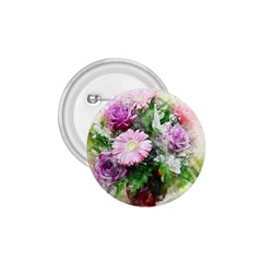 Flowers Roses Bouquet Art Nature 1 75  Buttons by Celenk