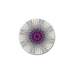 Mandala Kaleidoscope Ornament Golf Ball Marker (10 Pack) by Celenk