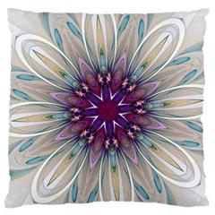 Mandala Kaleidoscope Ornament Large Flano Cushion Case (two Sides) by Celenk