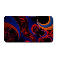 Fractal Abstract Pattern Circles Medium Bar Mats by Celenk