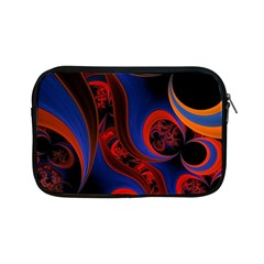Fractal Abstract Pattern Circles Apple Ipad Mini Zipper Cases by Celenk