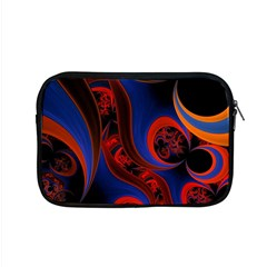 Fractal Abstract Pattern Circles Apple Macbook Pro 15  Zipper Case by Celenk