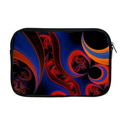 Fractal Abstract Pattern Circles Apple Macbook Pro 17  Zipper Case by Celenk