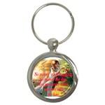 keychain sister - Key Chain (Round)