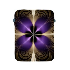 Fractal Glow Flowing Fantasy Apple Ipad 2/3/4 Protective Soft Cases