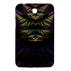 Fractal Colorful Pattern Fantasy Samsung Galaxy Tab 3 (7 ) P3200 Hardshell Case  by Celenk