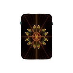 Fractal Floral Mandala Abstract Apple Ipad Mini Protective Soft Cases by Celenk